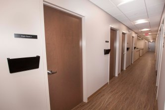 Brightview Cincinnati Center Medical Hallway