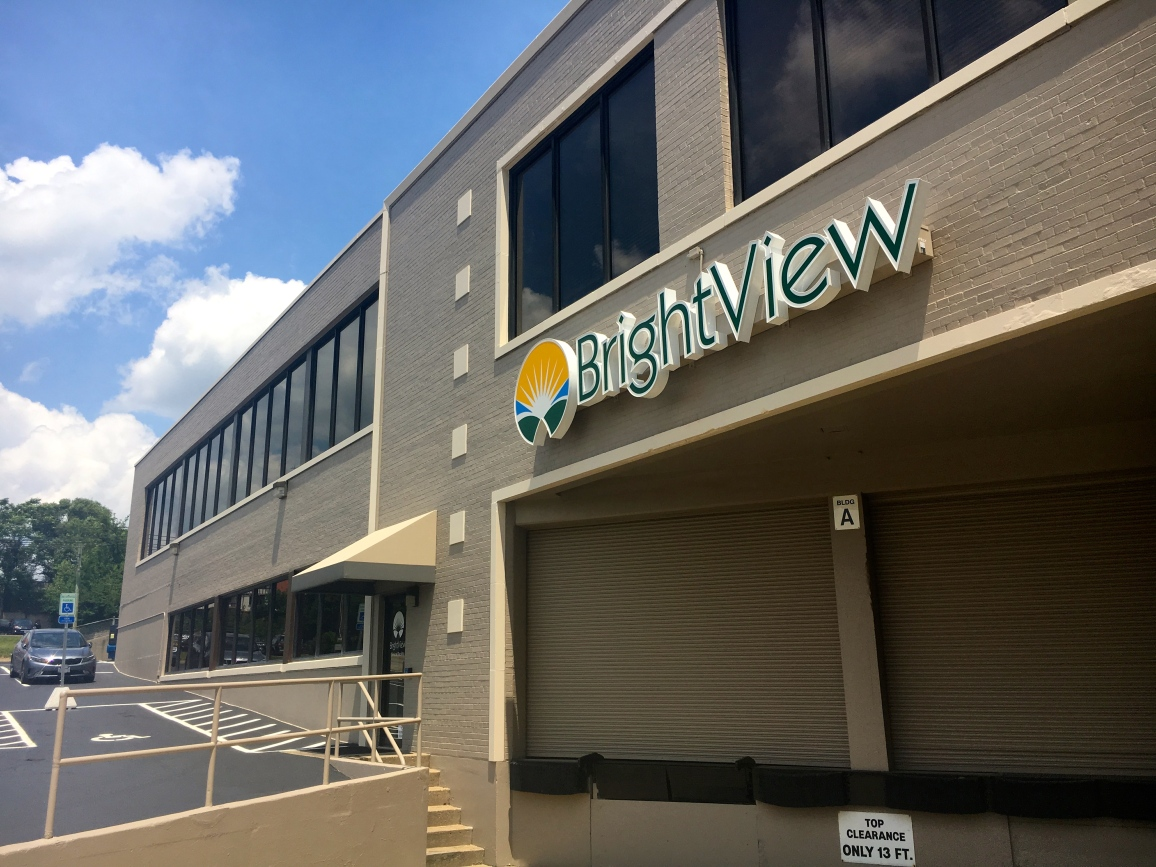 Brightview Morgan Location sign