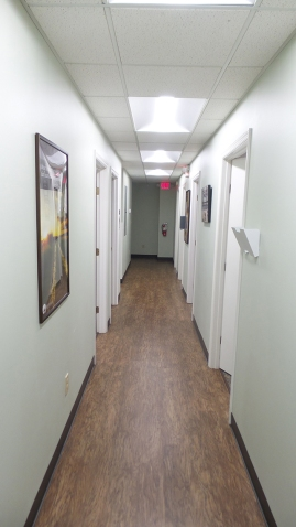 Brightview Fairfield Location Medical Hallway