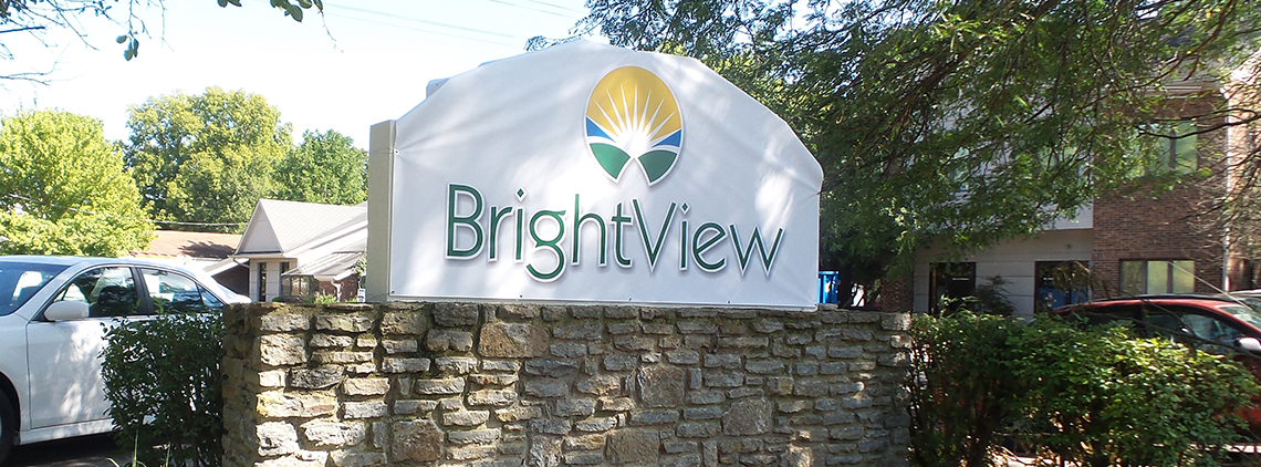 Brightview Fairfield Location Outdoor Sign